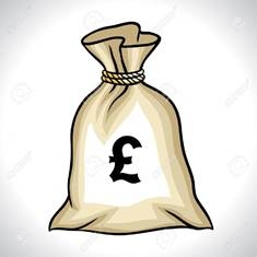 Animated Money Bag