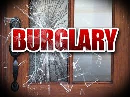Smashed window burglary