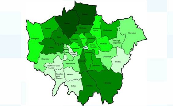 North London Danger Map