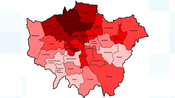 london borough crime chart