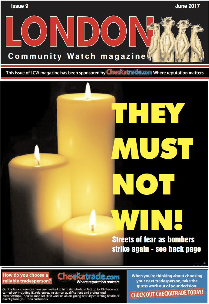 London Community Watch Magazine Cover