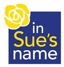 In Sue's Name Logo