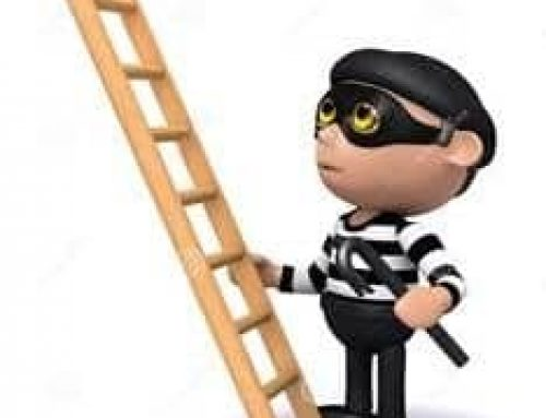 Ladder Burglaries! That's Handy – A Nearby Ladder!